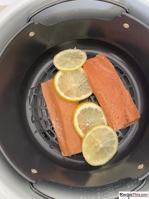 ninja foodi salmon