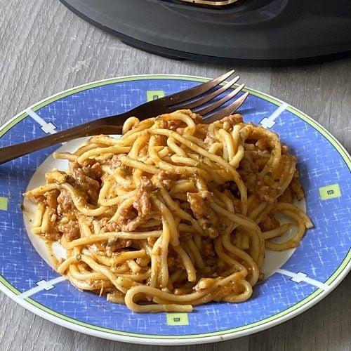ninja foodi spaghetti bolognese