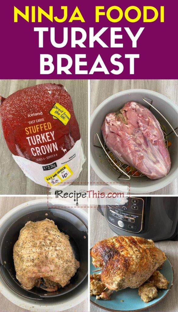 ninja foodi turkey breast step by step