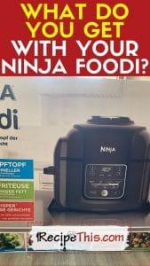 ninja foodi unboxing and what you get with your ninja foodi