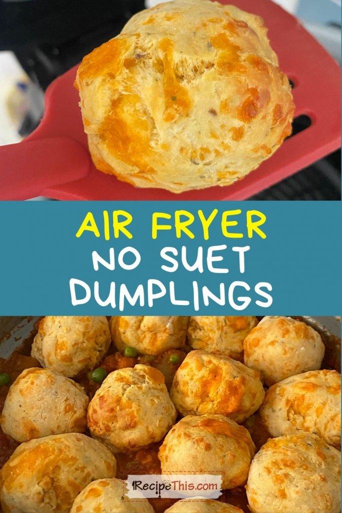 no suet dumplings recipe