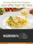 Creamy Guilt Free Linguine (With Semper Gluten Free Pasta)