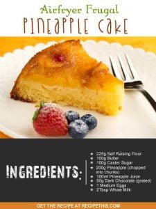 """""""easy pineapple cake"""""""