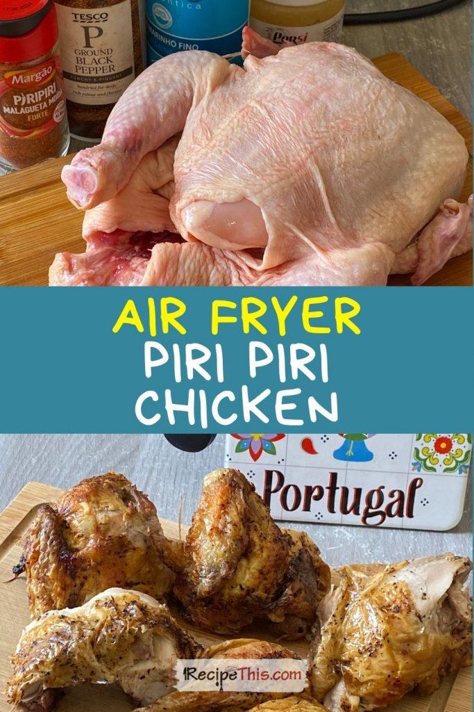 piri piri chicken in air fryer