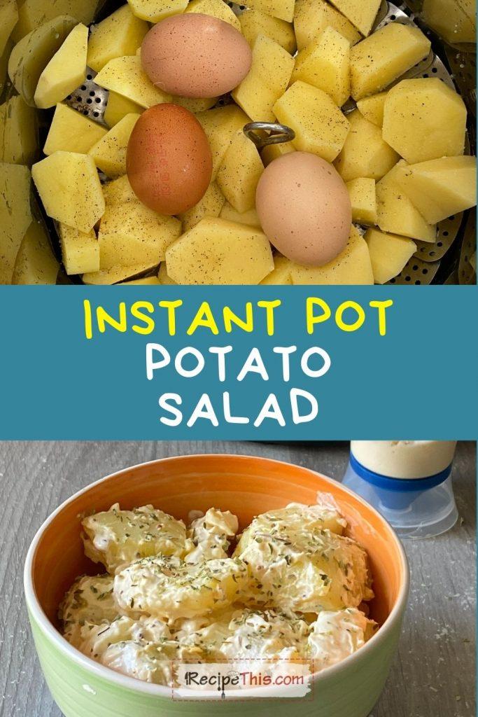 potato salad in instant pot