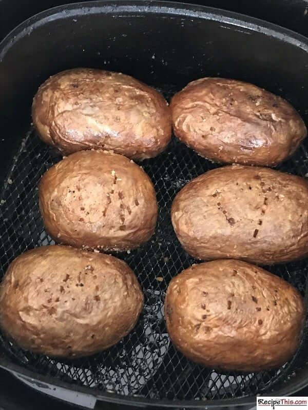 quick air fryer baked potato