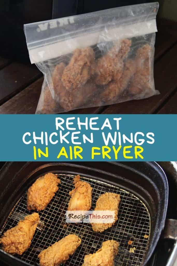 reheat chicken wings in air fryer recipe