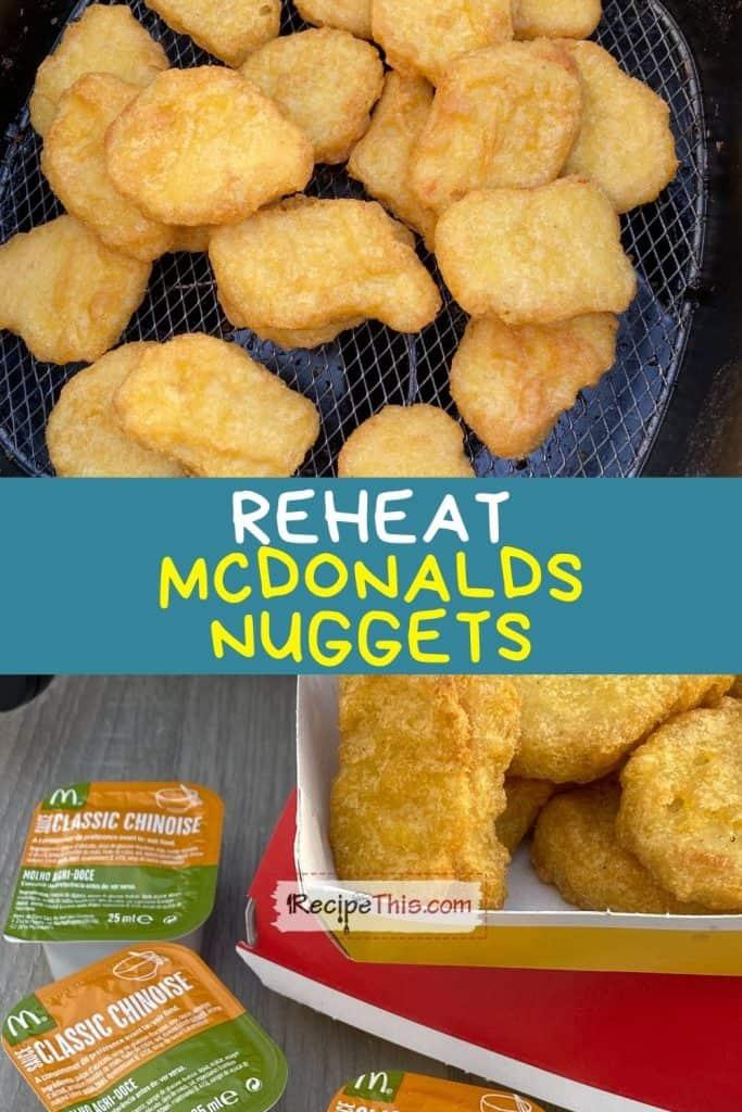 reheat mcdonalds nuggets recipe