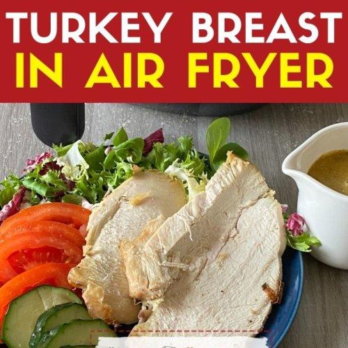 reheat turkey breast in air fryer