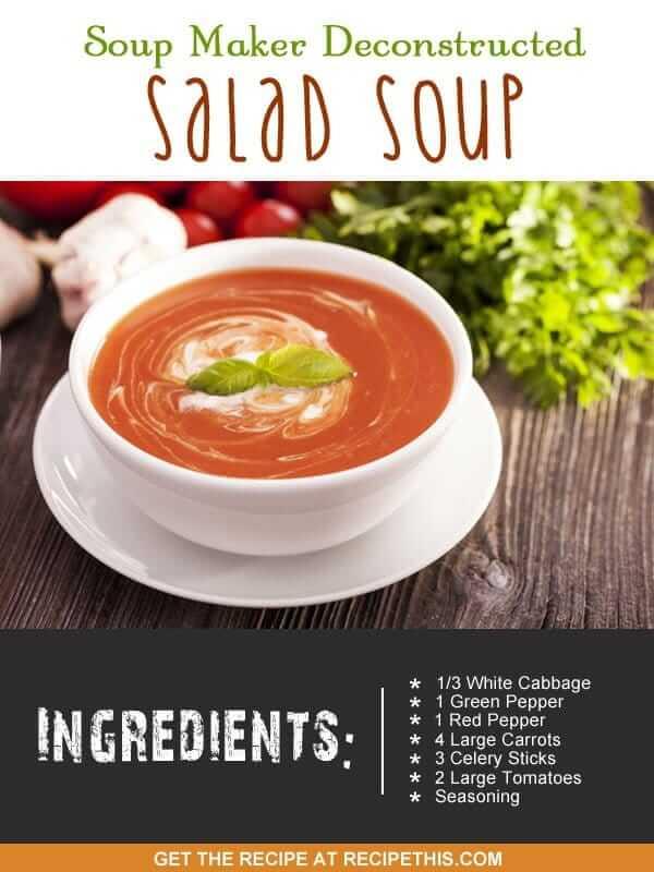 """salad soup recipe"""