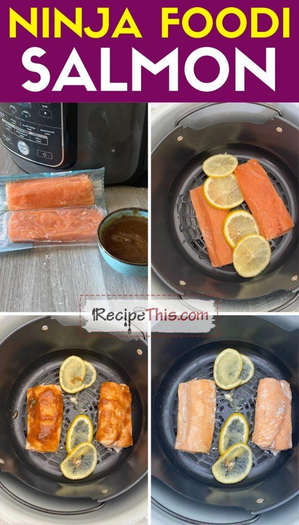 salmon in ninja foodi