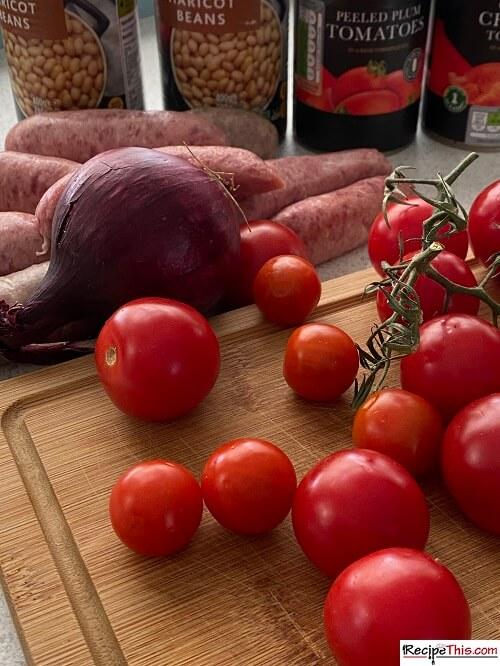 sausage casserole ingredients