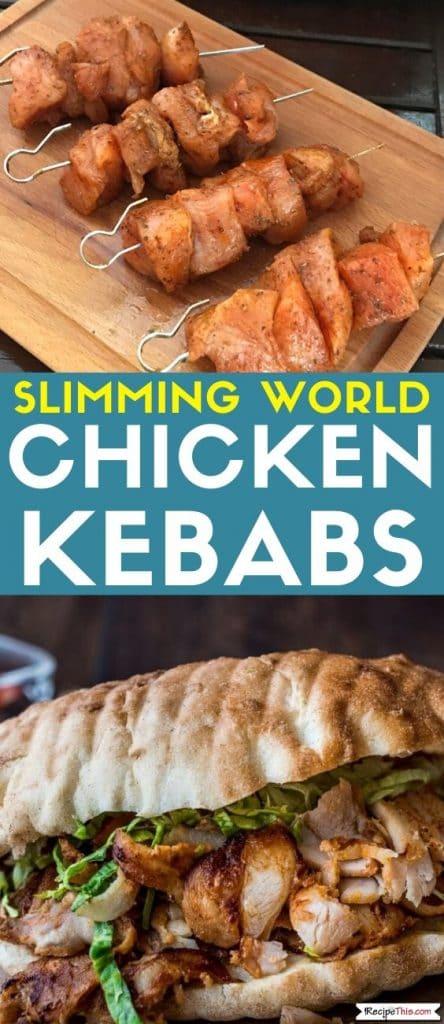 slimming world chicken kebabs recipe
