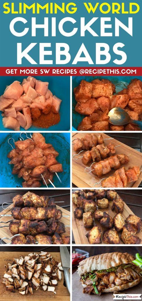 slimming world chicken kebabs step by step