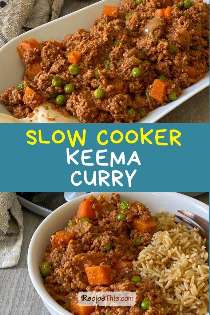 slimming world keema curry