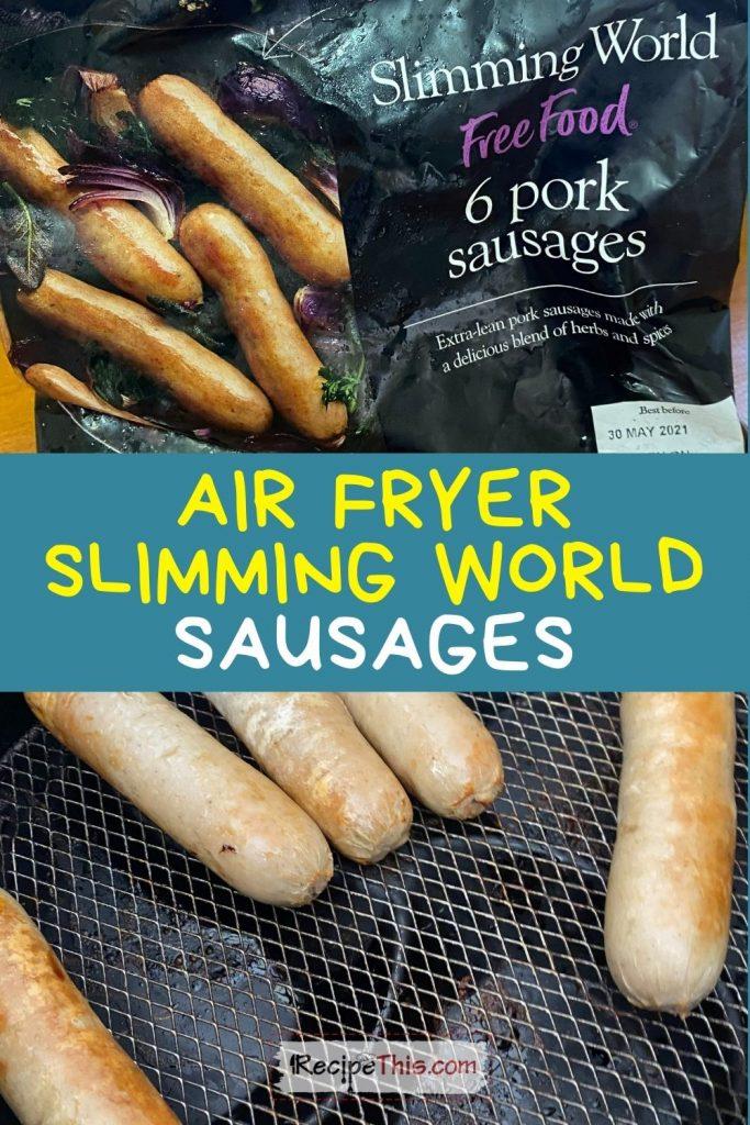 slimming world sausages