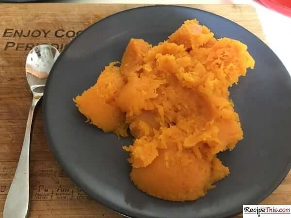 slow cooker butternut squash mash
