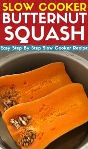 slow cooker butternut squash recipe