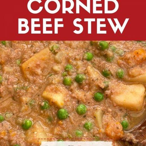slow cooker corned beef stew recipe