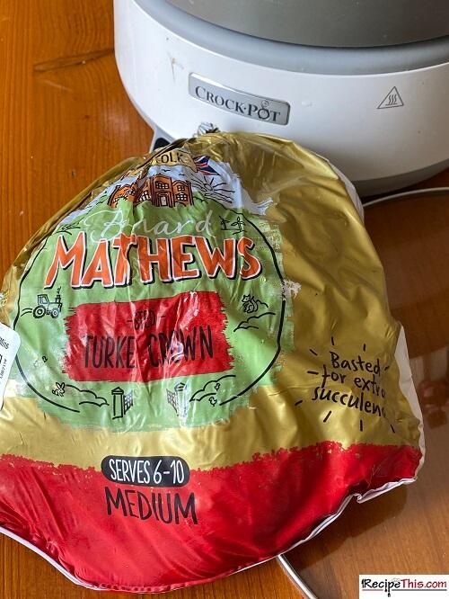 slow cooker turkey crown ingredients