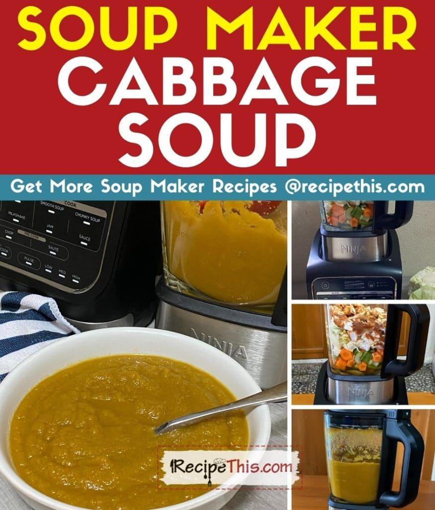 soup maker cabbage soup step by step