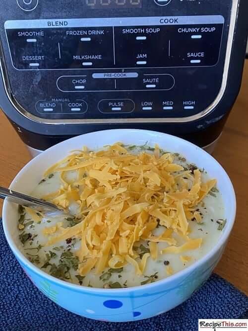 soup maker parsnip soup