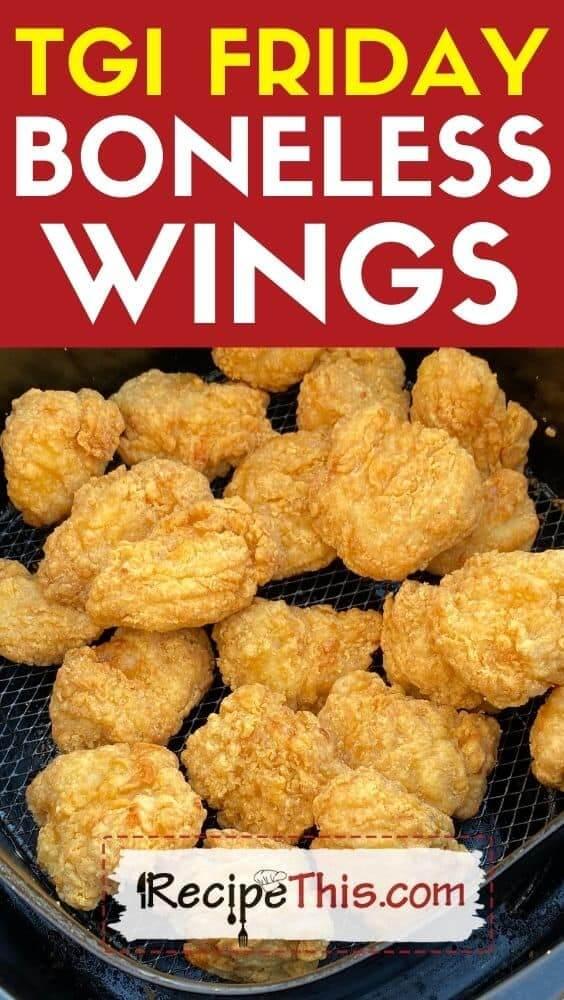 tgi friday boneless wings recipe