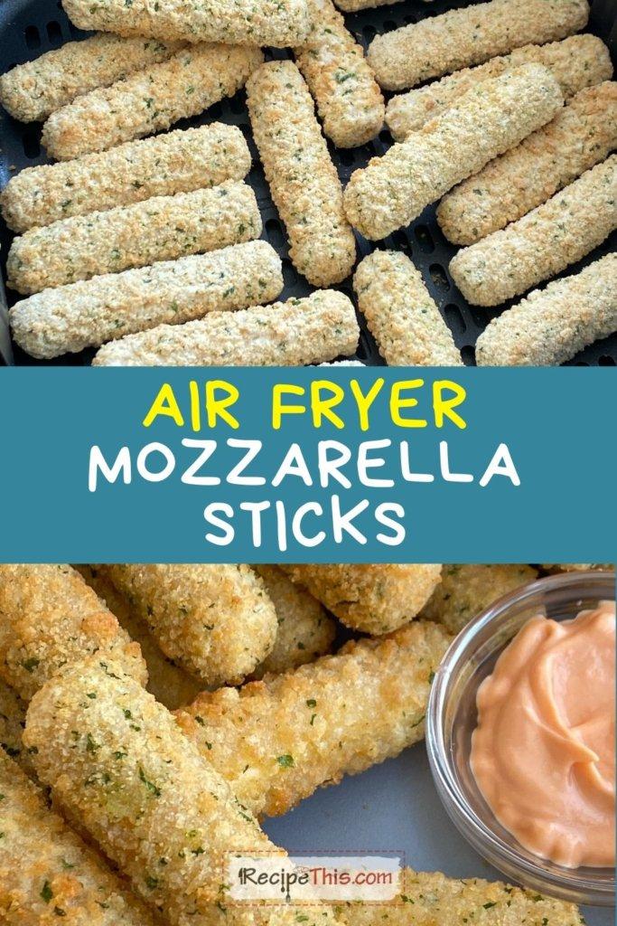 tgif mozzarella sticks air fryer