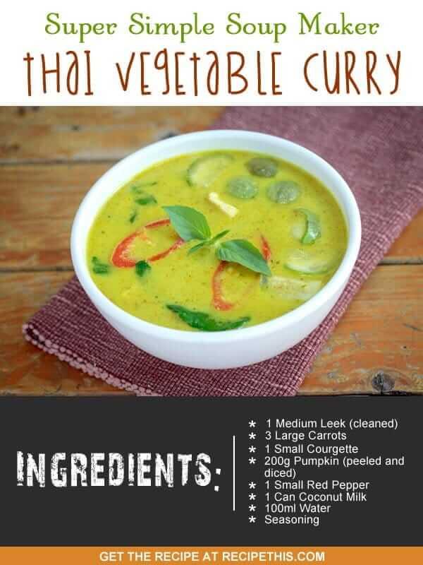 """""""soup make thai vegetable soup"""""""