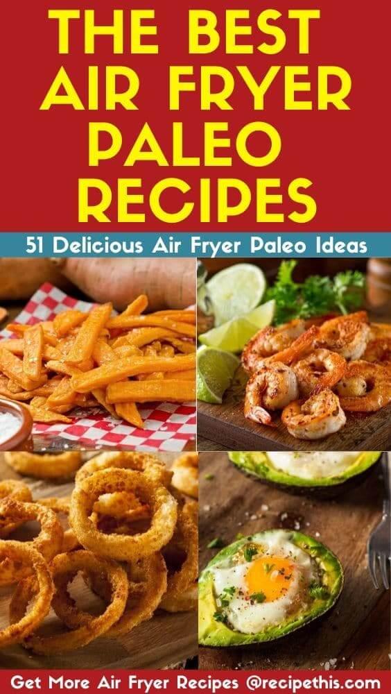 the best air fryer paleo recipes