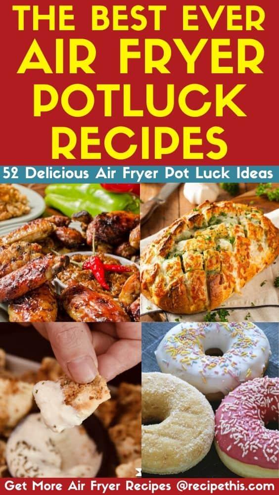 the best air fryer potluck recipes