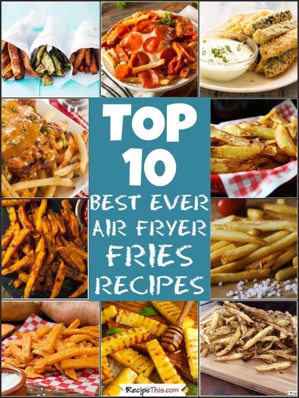 top 10 best ever air fryer fries recipes