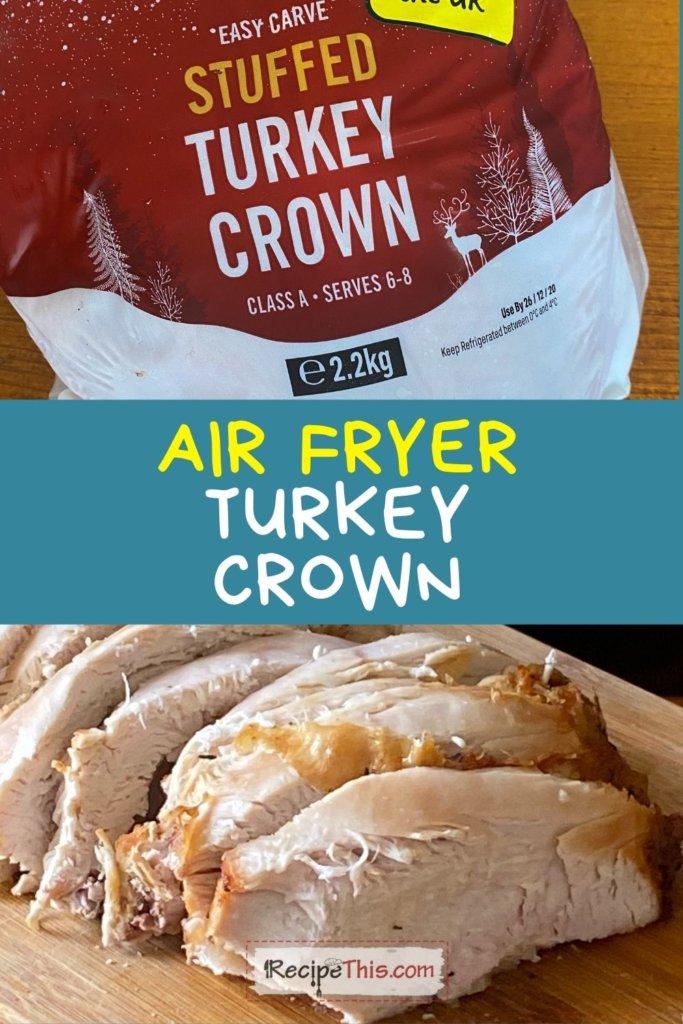 turkey crown air fryer