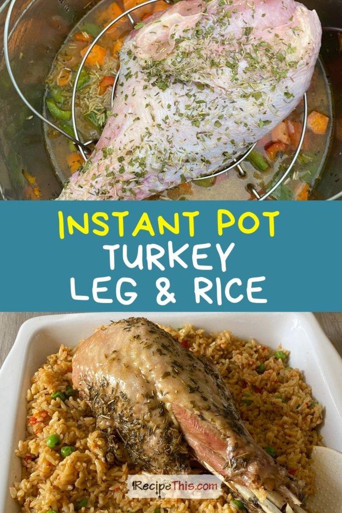 turkey leg instant pot