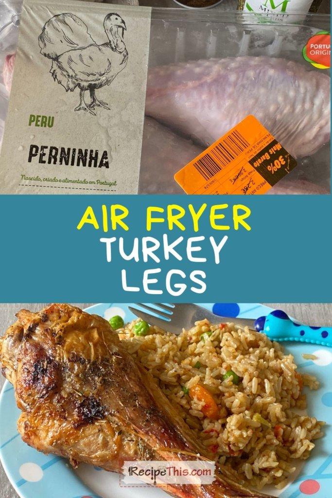 turkey legs air fryer