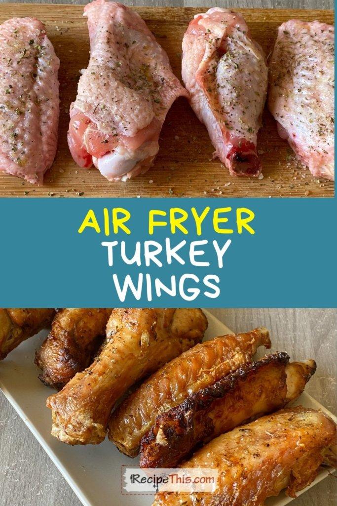 turkey wings air fryer