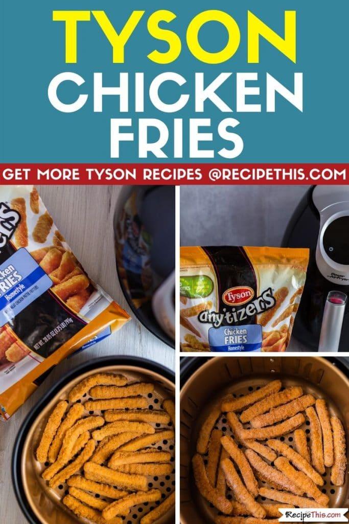 tyson chicken fries step by step