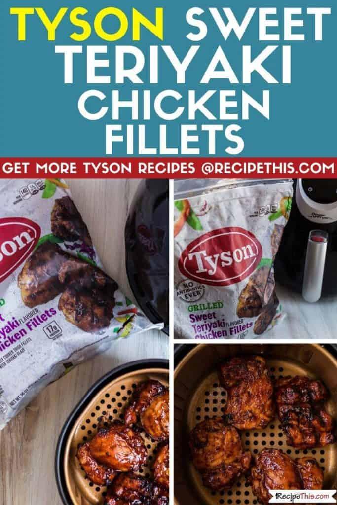tyson sweet teriyaki chicken fillets